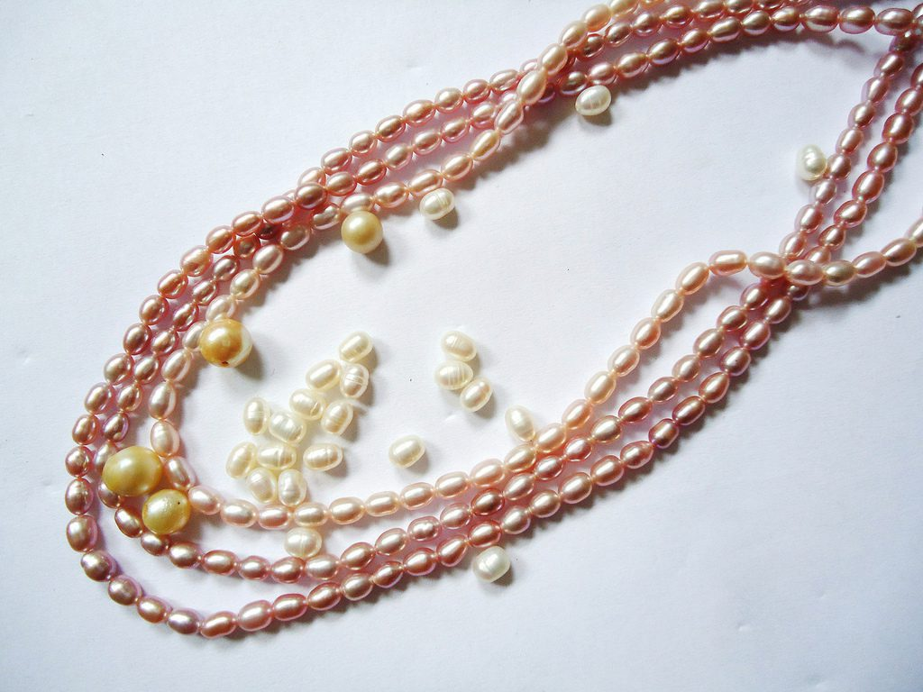 cultivated pearls