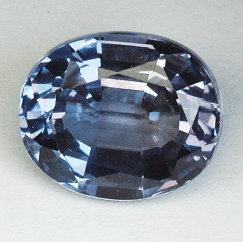 Russian alexandrite - oval cut