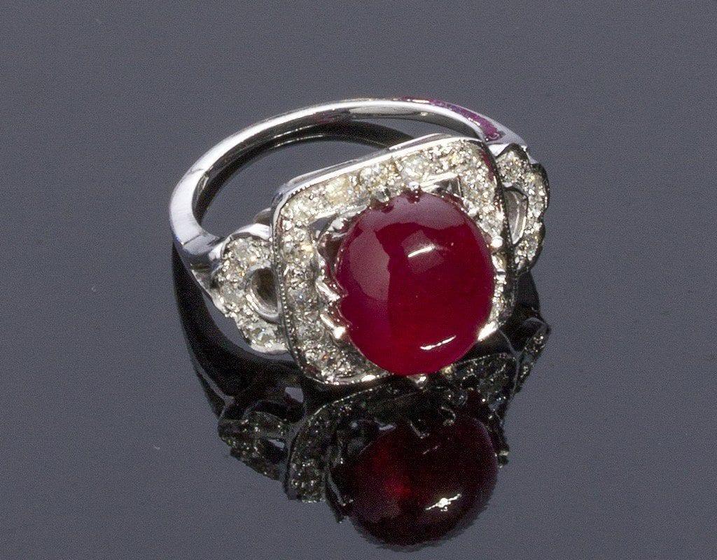 lead-glass ruby - gemstone enhancements