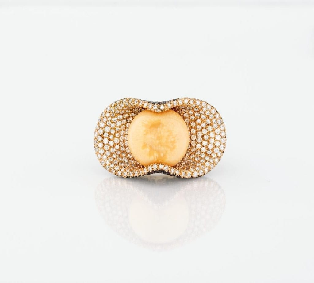 melo pearl ring