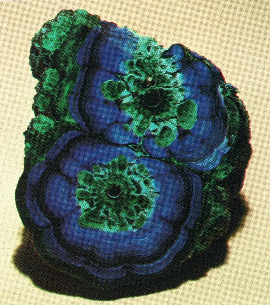 Azurite with Malachite - Bisbee, Arizona