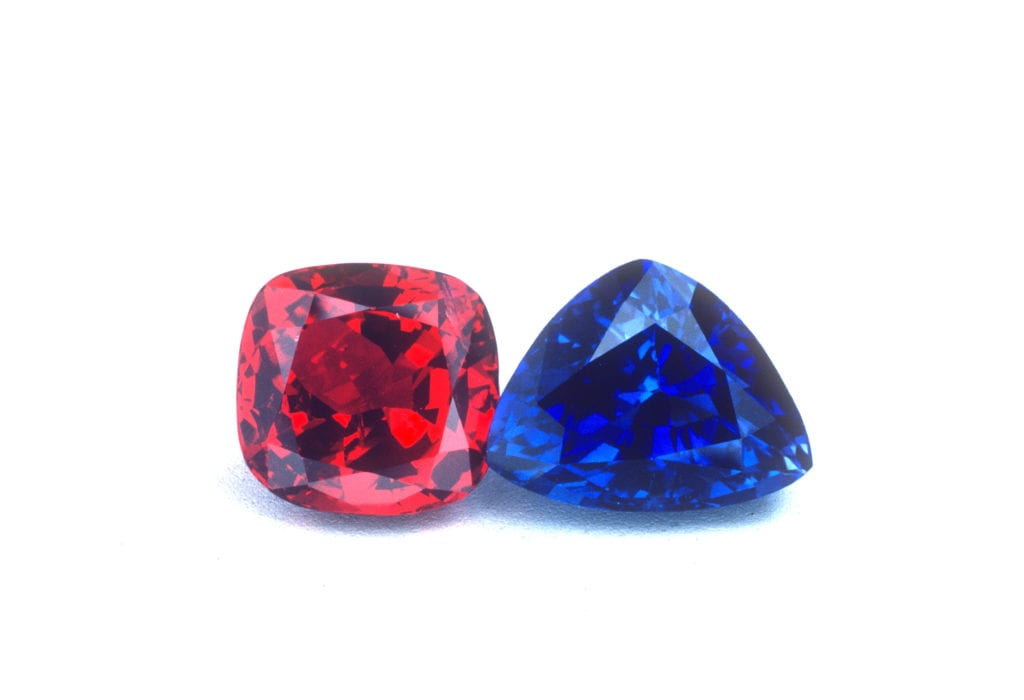 ruby and sapphire - gem classification