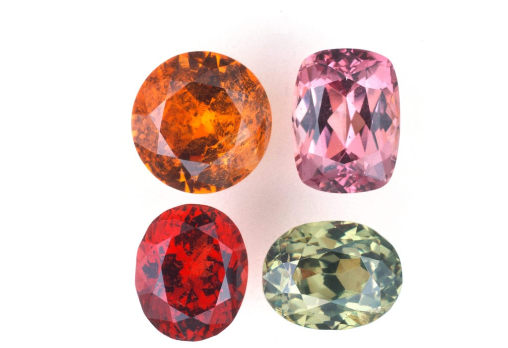 garnets - gem classification