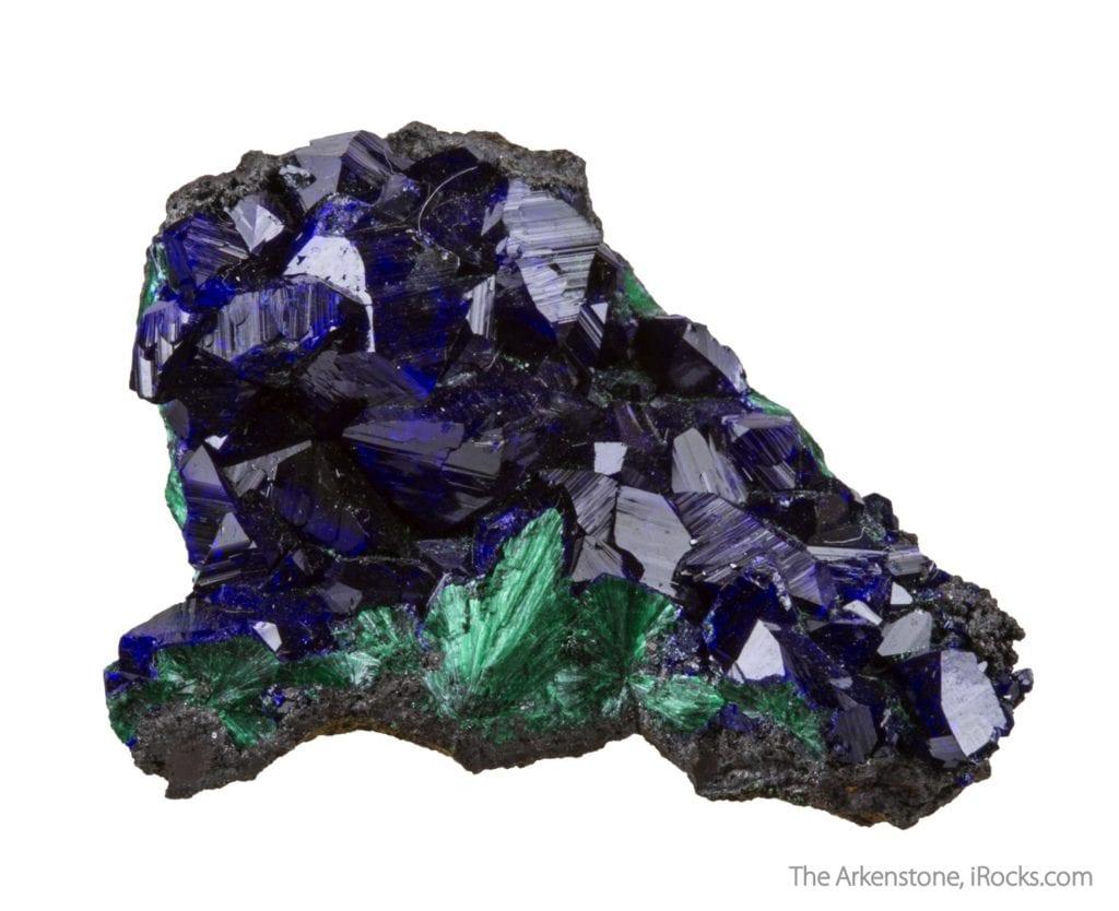 azurite crystals - Laos