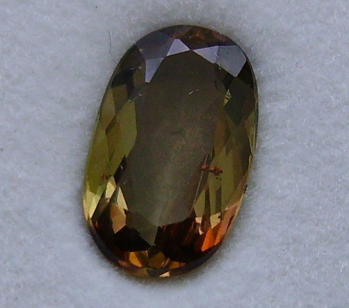 faceted andalusite