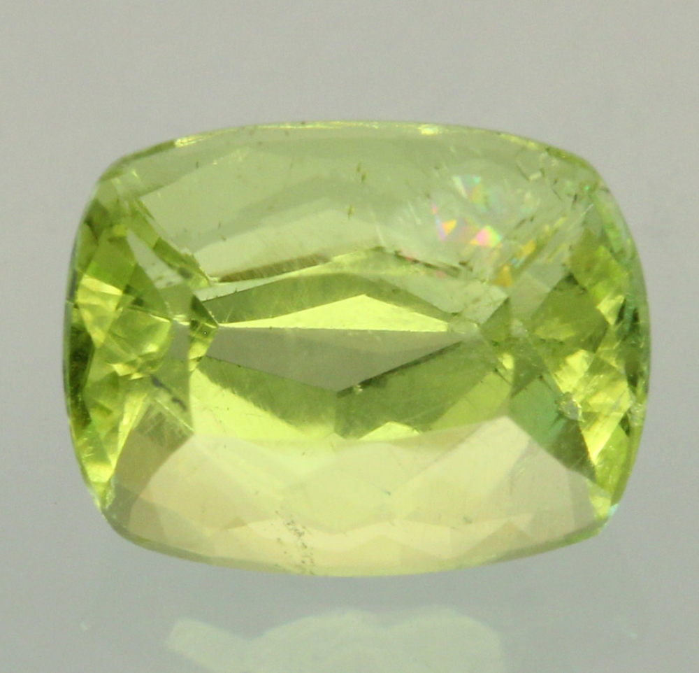 cushion-cut brazilianite 1