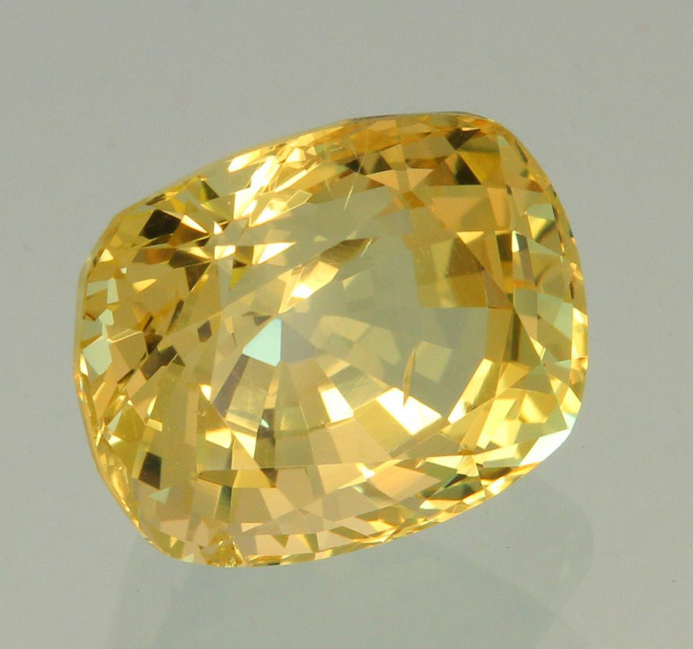 cushion-cut danburite - Madagascar