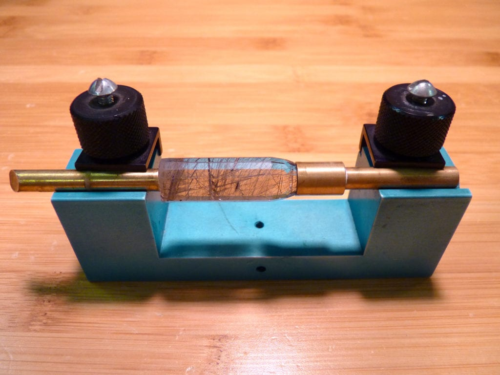 gemstone pendulum - transfer jig