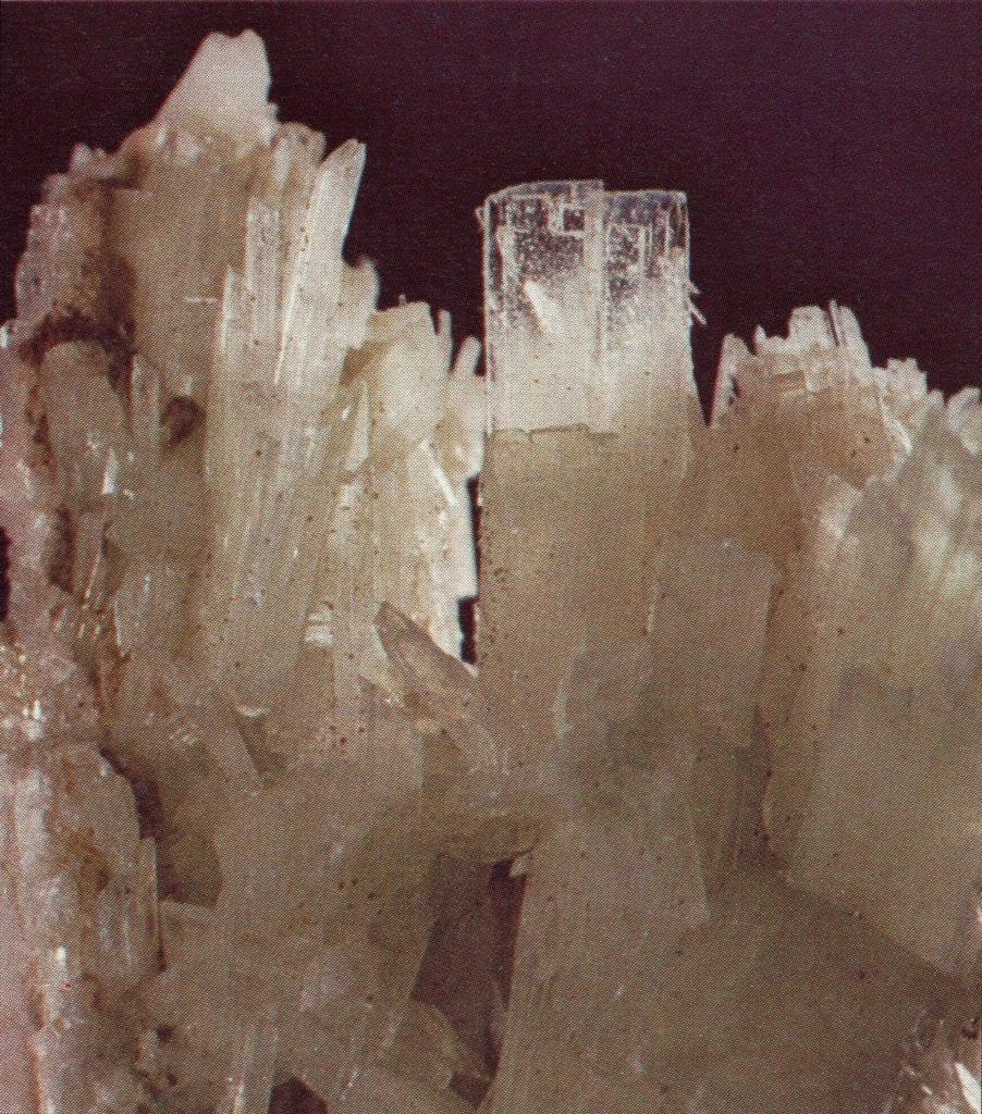 pectolite crystals - Canada