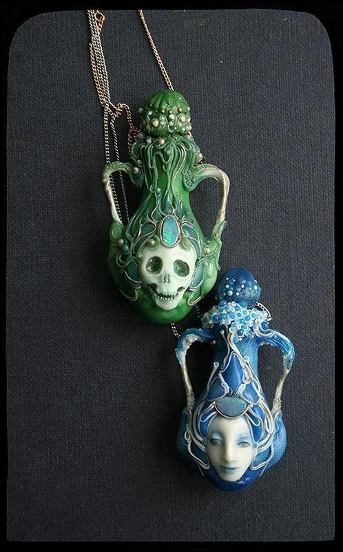 opal pendants - opal symbolism