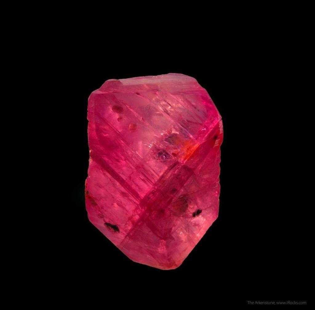ruby crystal - Mogok, Myanmar