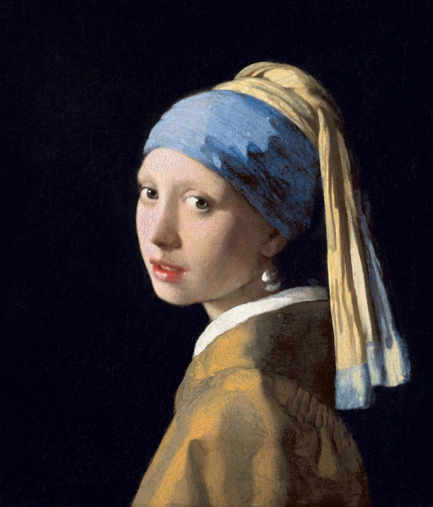 Girl with a Pearl Earring - pearl symbolism
