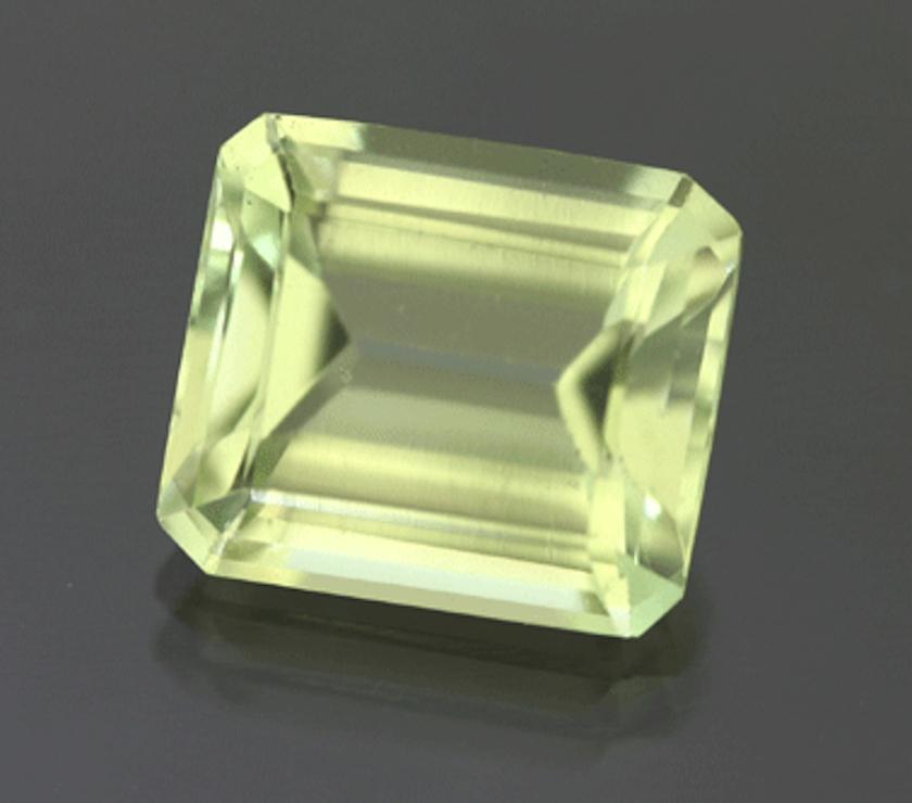 step-cut hydroxlherderite