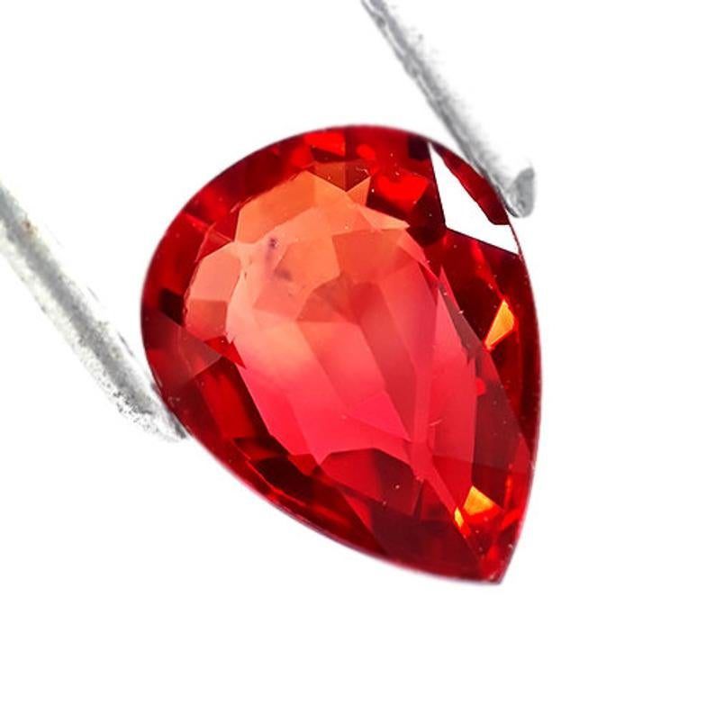 red-orange ruby