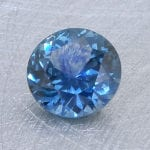 Finished version of Portuguese Brilliant Cut Sapphire