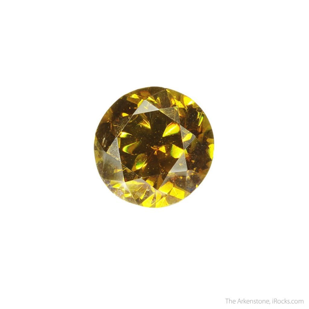 sphalerite buying guide - round brilliant cut