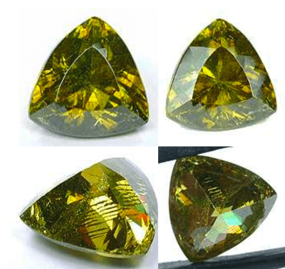sphalerite buying guide - trillion cut