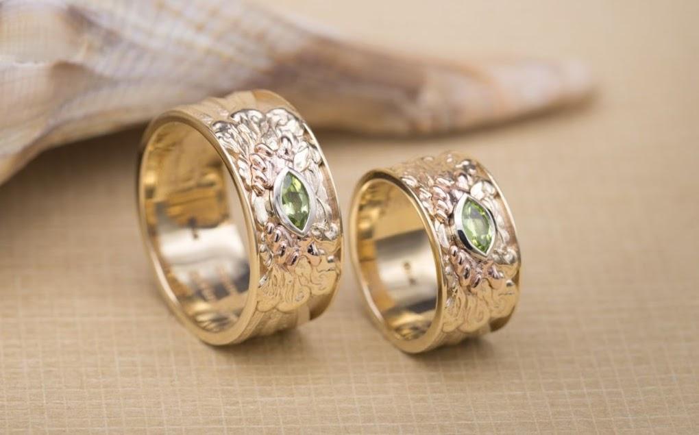 peridot buying guide - rings