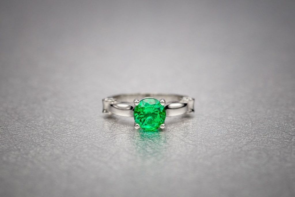lab-created emerald ring - emerald buying guide
