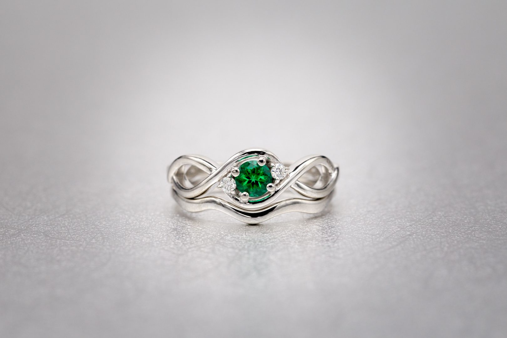 emerald rings differences between the real and synthetic. Brilliant-cut Lab-created Emerald In A Ring. © CustomMade. Used With Permission. Rings Differences Between The Real And Synthetic