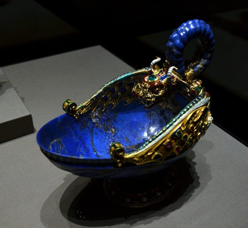 lapis lazuli buying guide - bowl