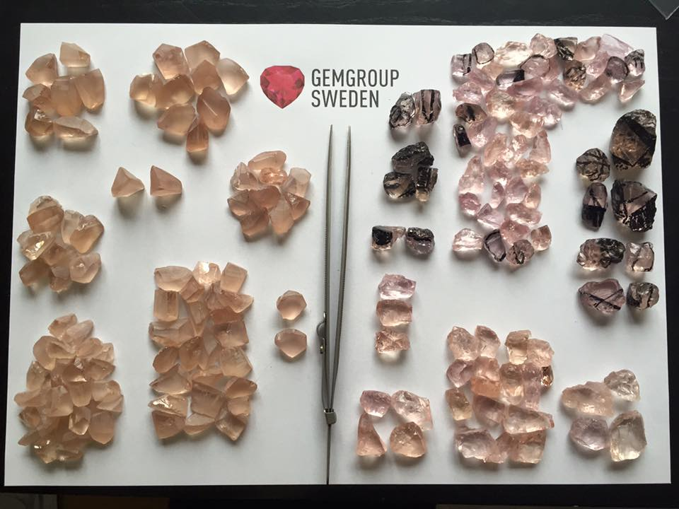 morganite buying guide - treated and untreated comparison