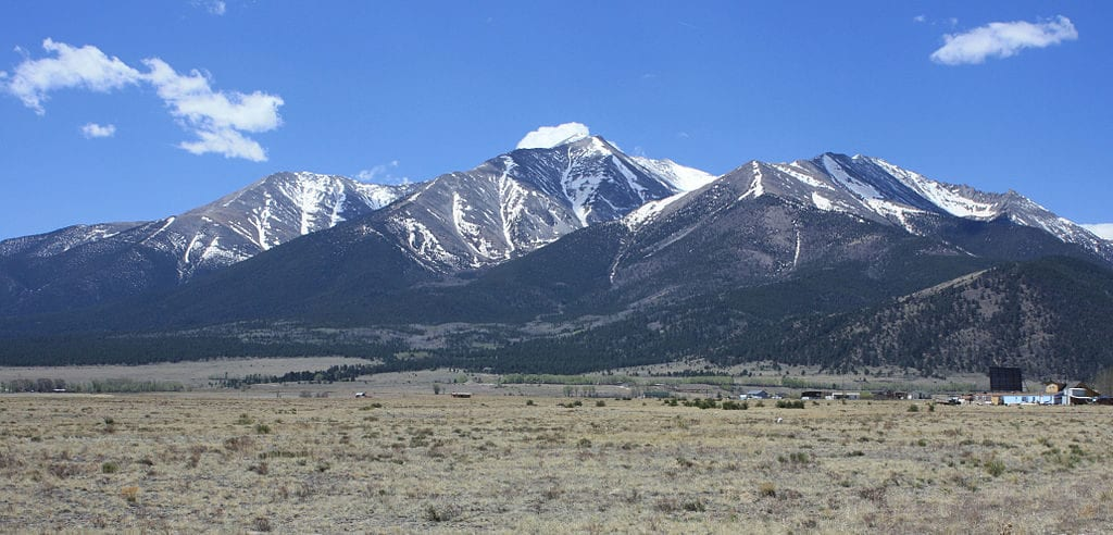 Mount Princeton, near Buena Vista, Colorado