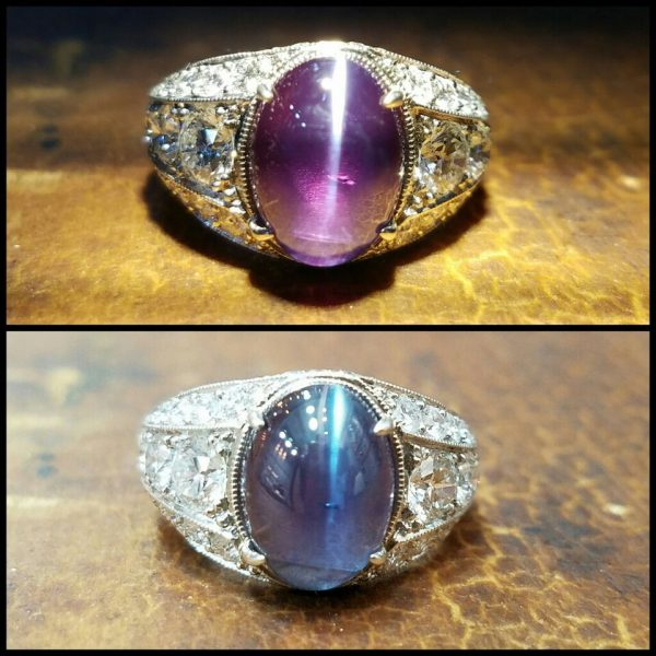alexandrite buying - large brazilian cat's eye