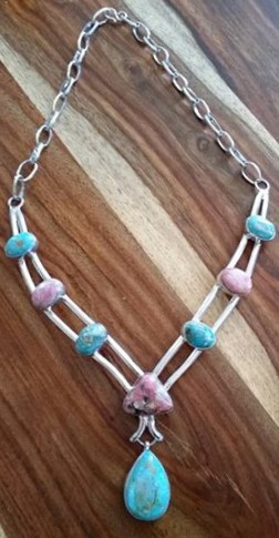 Turquoise buying - Burtis Blue and Rhodochrosite
