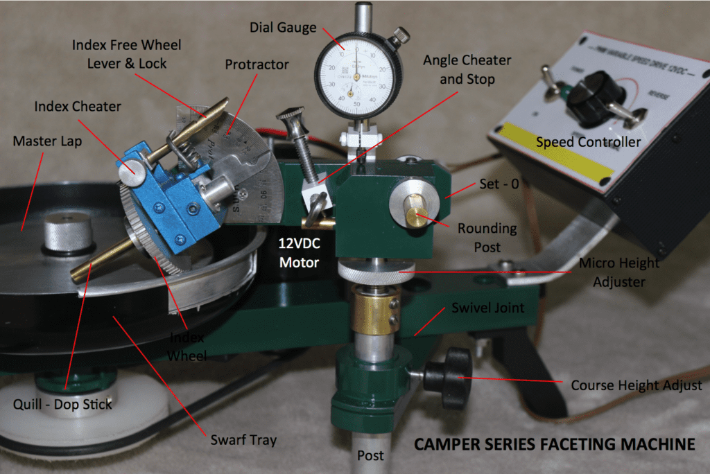 Camper Series - faceting machines and equipment