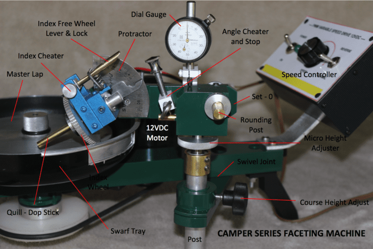 Faceting Made Easy, Part 2: Faceting Machines and Equipment