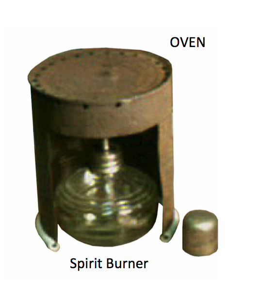 oven and spirit lamp - faceting machines and equipment