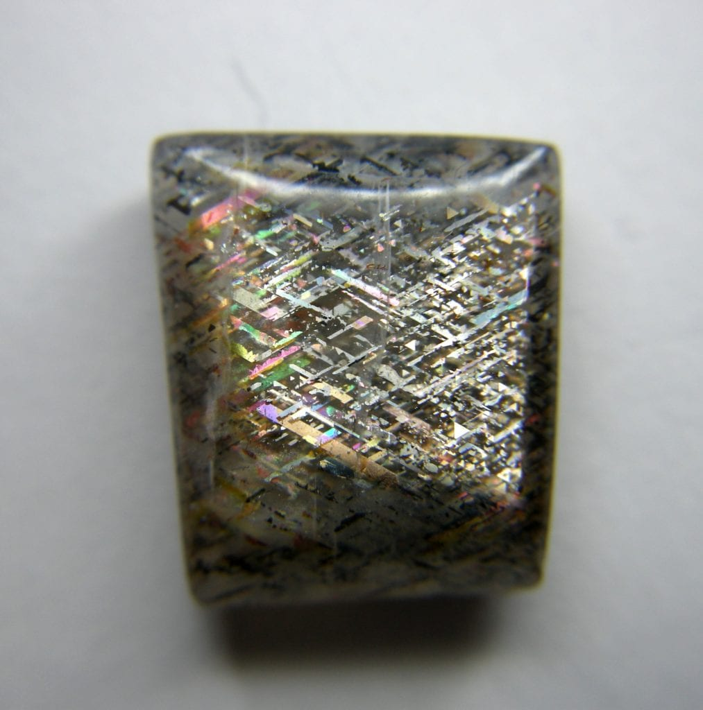 denver gem & mineral showcase - rainbow lattice sunstone