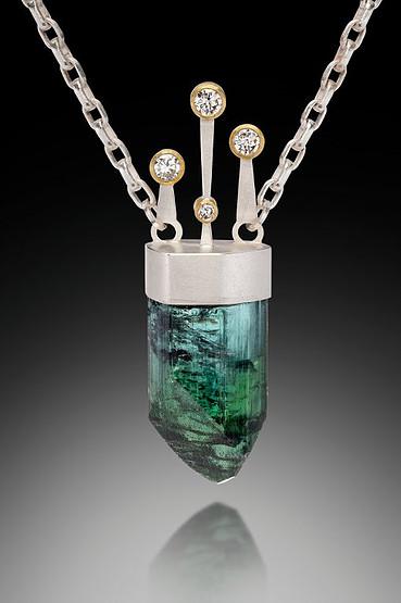 tourmaline buying - maleficent pendant