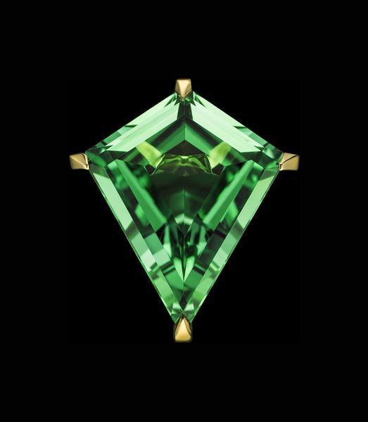 tourmaline buying - neon kite ring