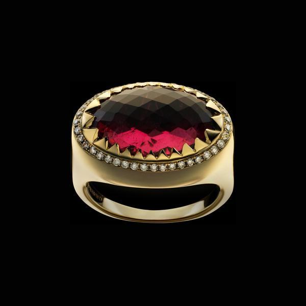 tourmaline buying - rubellite ring