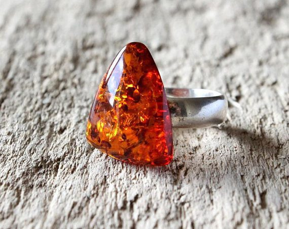 amber buying - cognac amber ring