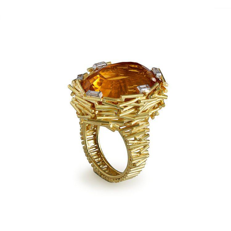 citrine buying - large citrine ring