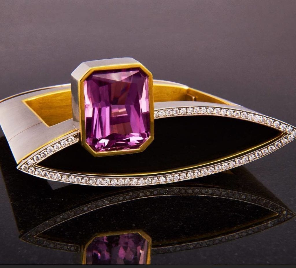 kunzite buying - bangle