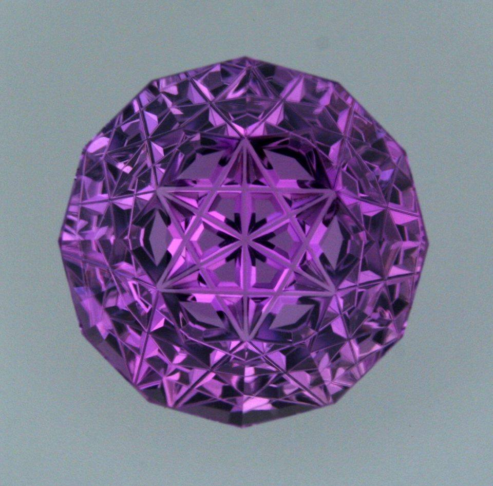 kunzite buying - metatron cut