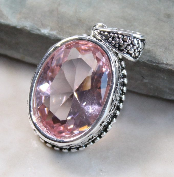 kunzite buying - pendant