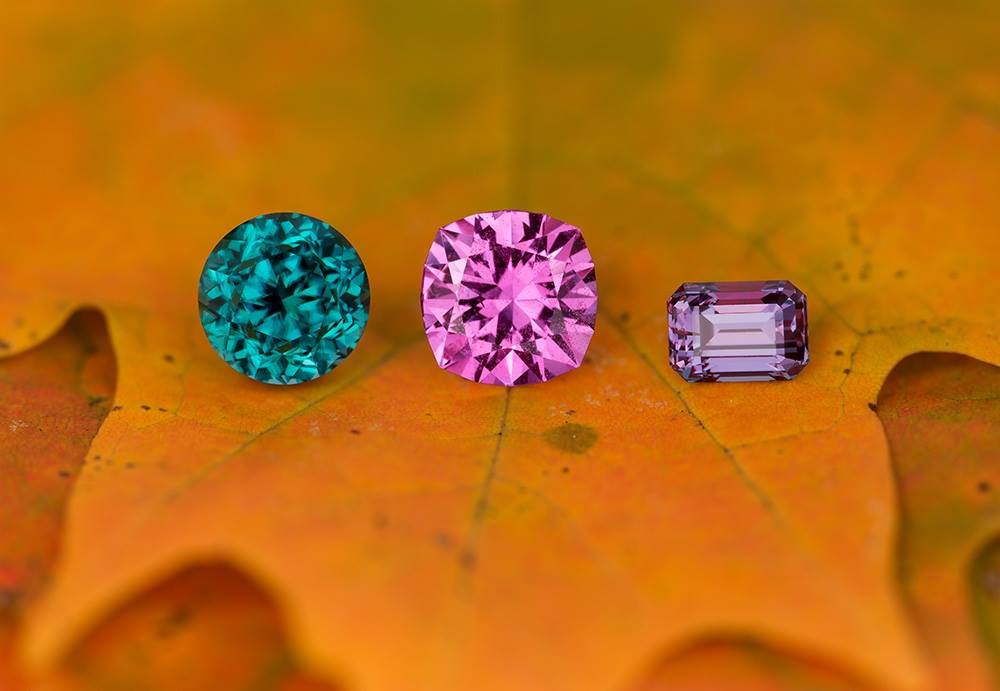 how to start a gem collection - grandiderite, pink sapphire, and alexandrite