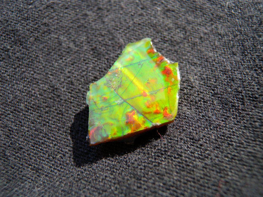 ammolite buying guide - ammolite angle 3