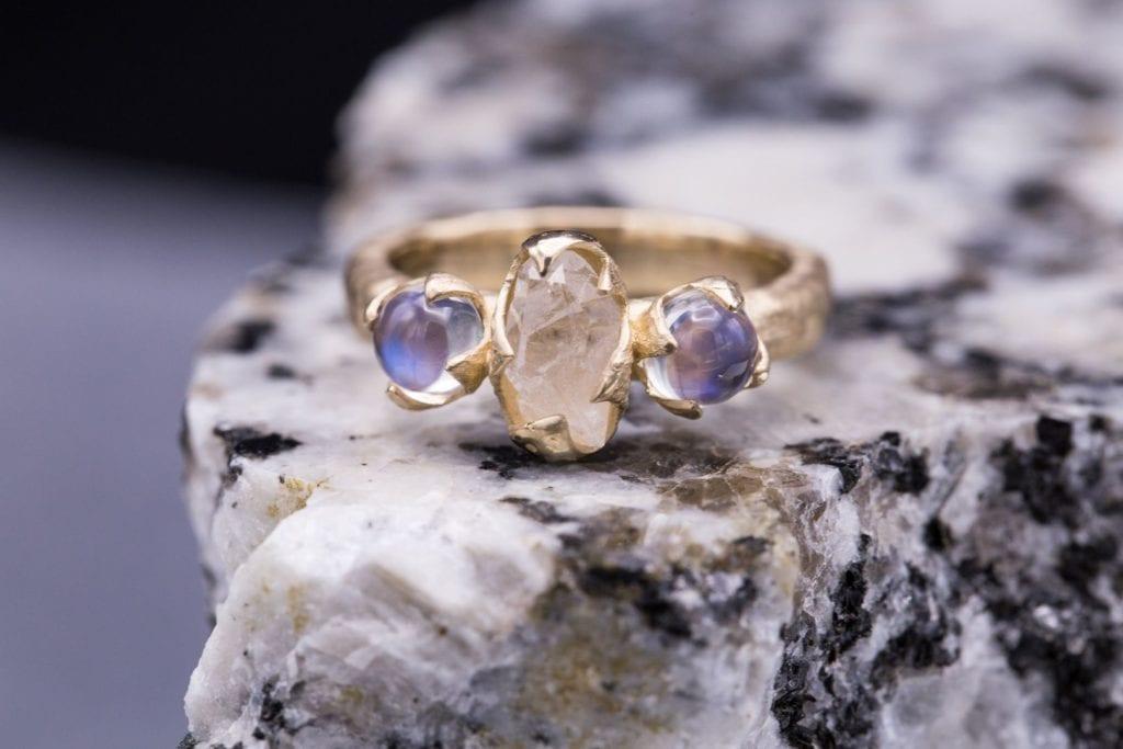 Raw Stone Jewelry Design And Care International Gem Society