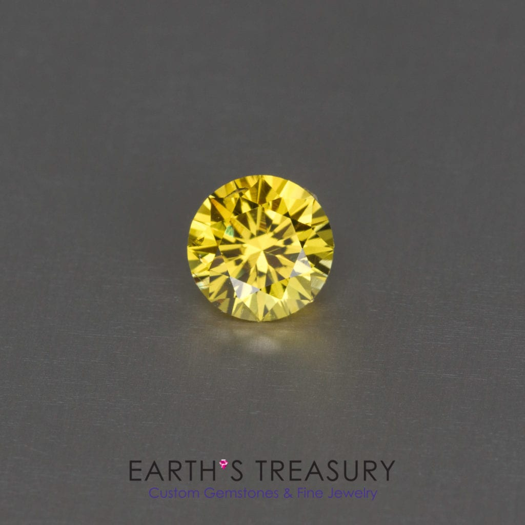 yellow gemstones - 1.11ct Mali garnet