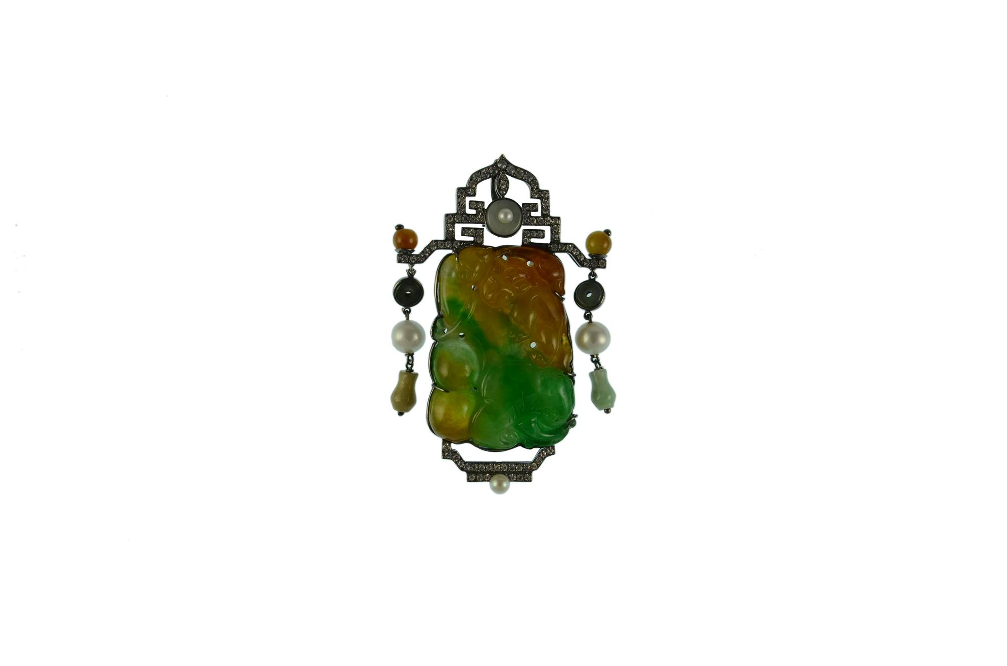 and heat cross celtic htm pendant treated yellow gold image prongs emerald crosses detailed ruby in