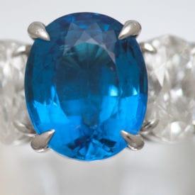 ten gemstones rarer than diamond - paraiba ring