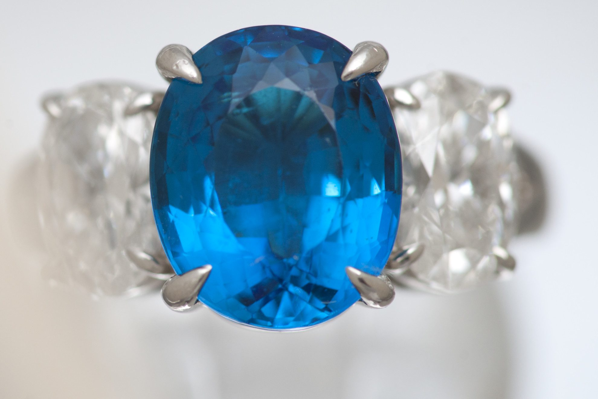 gems ajs articles jeremejevite sapphire at faceted rare