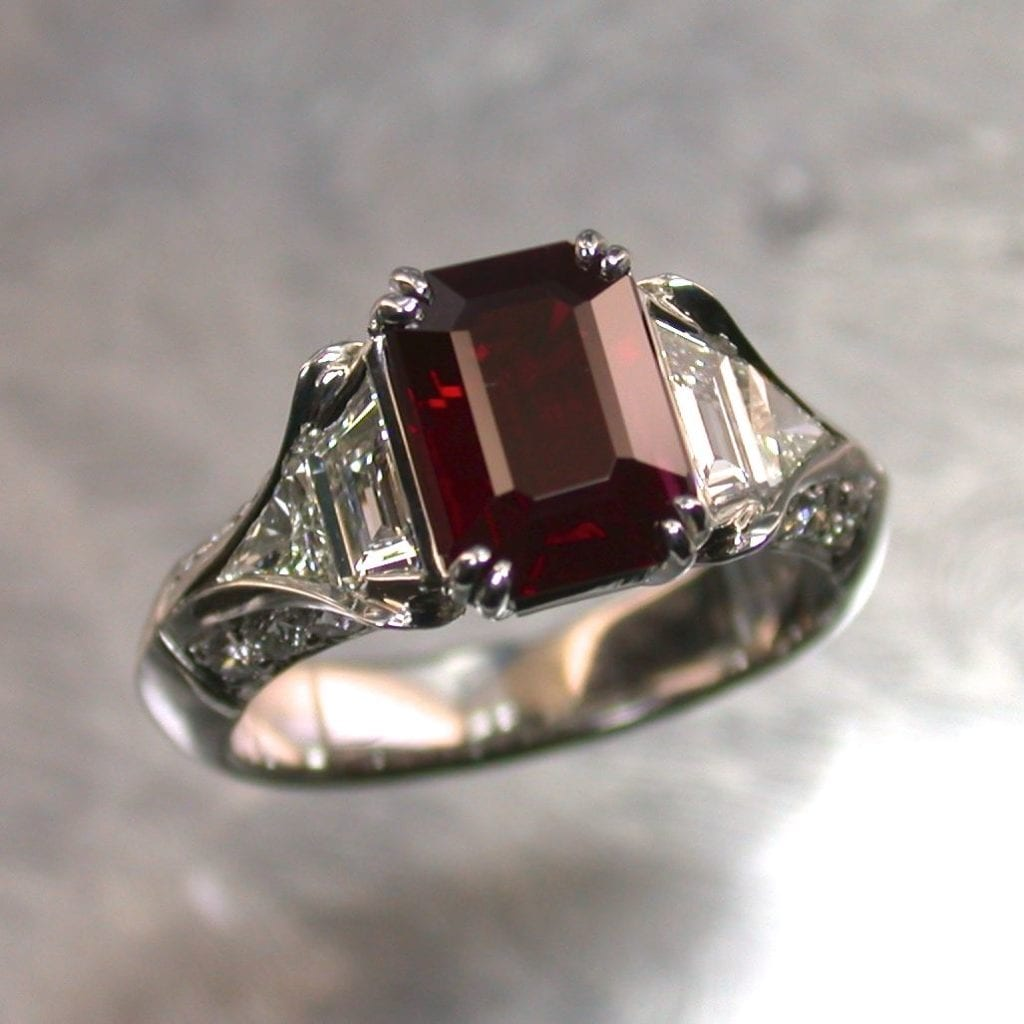 ten gemstones rarer than diamond - burma ruby ring