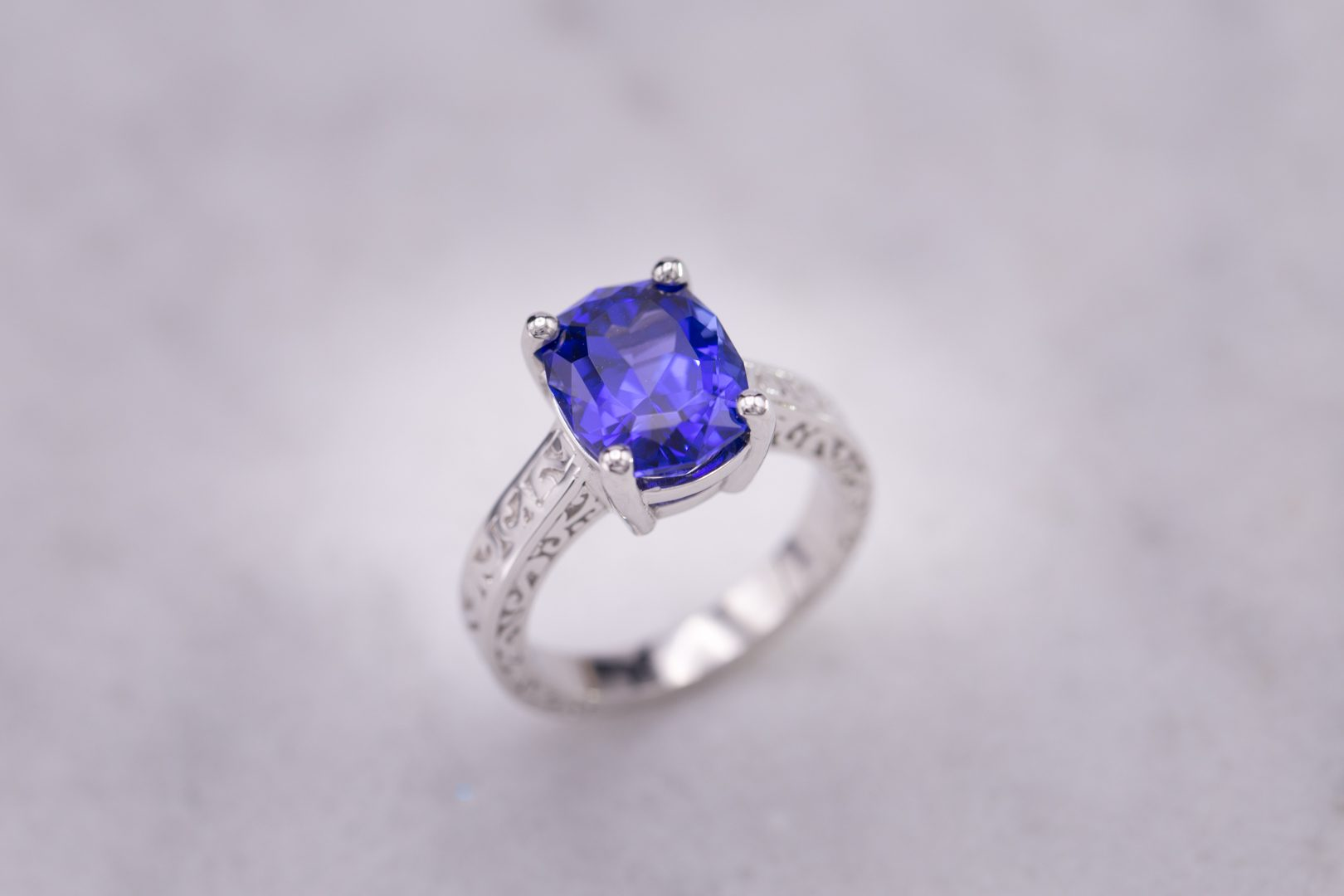 natural blue unheated deep ct sapphire burma untreated